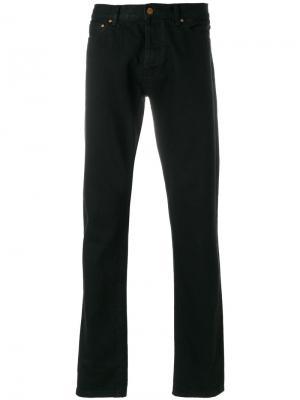 Зауженные джинсы Han Kjøbenhavn. Цвет: чёрный