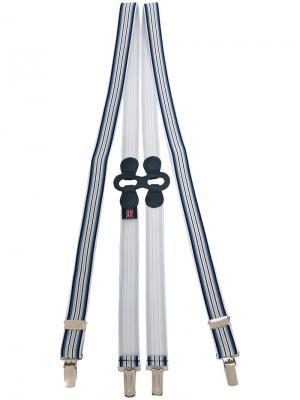 Эксклюзивные подтяжки Tirante Albert Thurston. Цвет: синий