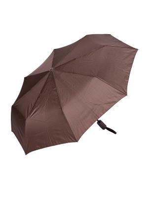 Зонт складной NUAGES. Цвет: коричневый