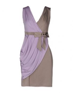 Короткое платье SOOZ by ISABEL C.. Цвет: сиреневый