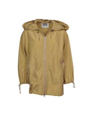 Куртка 313 TRE UNO. Цвет: зеленый-милитари