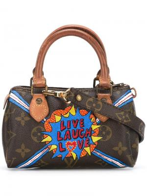 Сумка-тоут Speedy Louis Vuitton Vintage. Цвет: коричневый