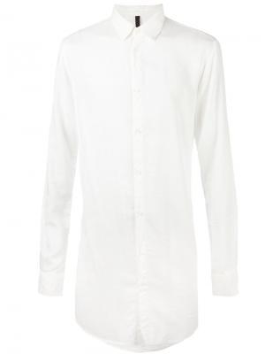 Рубашка свободного кроя Poème Bohémien. Цвет: белый