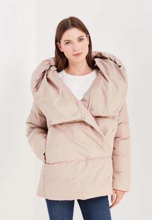 Куртка утепленная Imocean. Цвет: бежевый