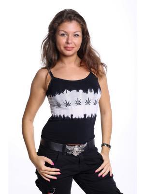 Топ Churinga.. Цвет: черный, светло-серый