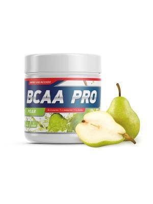Аминокислоты BCAA Pro (груша) 250 гр GENETICLAB. Цвет: белый