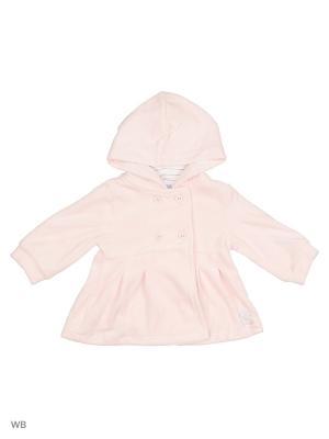 Велюровая толстовка с капюшоном Cutie Bear. Цвет: розовый
