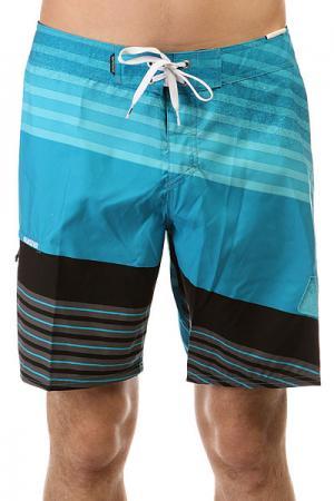 Шорты пляжные  Incline Logo Bdsh Hawaiia Quiksilver. Цвет: серый,черный