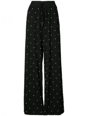 Пижамные брюки со шнурком Prabal Gurung. Цвет: чёрный