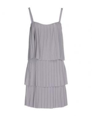 Короткое платье MILA SCHÖN CONCEPT. Цвет: сиреневый