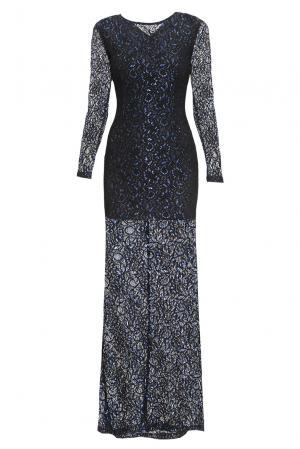 Кружевное платье 167844 Paola Morena. Цвет: черный