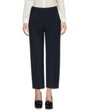 Повседневные брюки FUZZI. Цвет: темно-синий