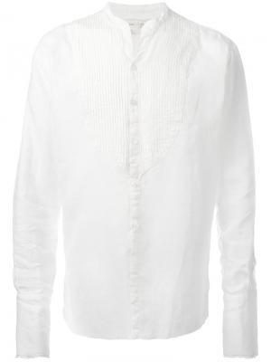Рубашка Tux Greg Lauren. Цвет: белый
