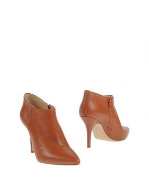 Ботинки GIAMPAOLO VIOZZI. Цвет: коричневый