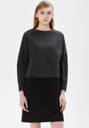 Платье Base Forms. Цвет: серый