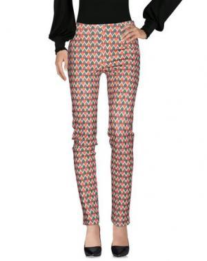Повседневные брюки SIYU. Цвет: зеленый