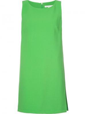 Mini shift dress Trina Turk. Цвет: зелёный