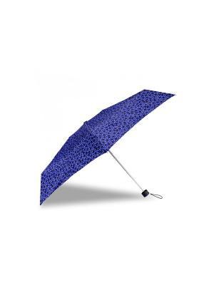 Зонт Isotoner. Цвет: черный, синий, белый