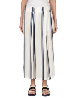 Повседневные брюки EMMA&GAIA. Цвет: белый
