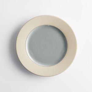 Комплект из 4 десертных тарелок, WAROTA La Redoute Interieurs. Цвет: розовая пудра,синий