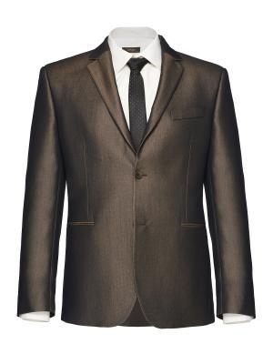 Костюм мужской btc. Цвет: темно-коричневый, коричневый