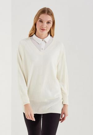 Пуловер Delicate Love. Цвет: белый