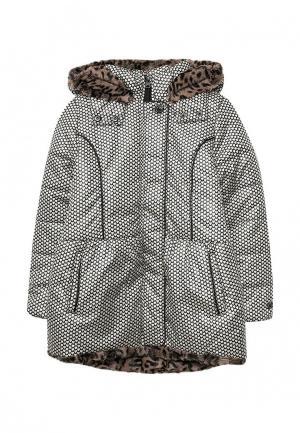 Куртка утепленная Catimini. Цвет: разноцветный