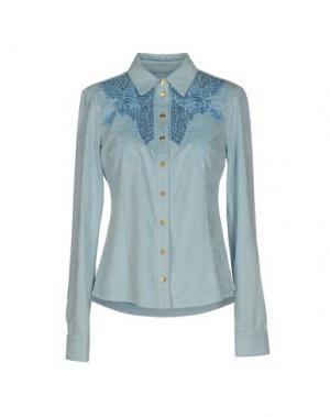 Pубашка MARANI JEANS. Цвет: небесно-голубой