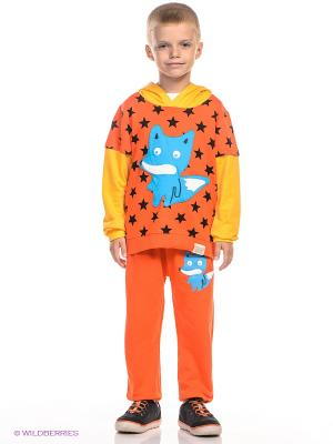 Комплект Kidly. Цвет: оранжевый, желтый