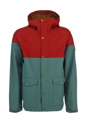 Куртка горнолыжная Bonfire. Цвет: серый