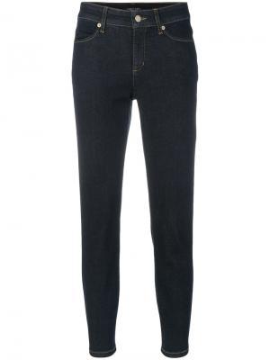 Укороченные джинсы Cambio. Цвет: синий