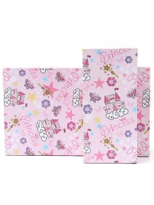 Подарочная коробка VELD-CO. Цвет: фиолетовый, розовый