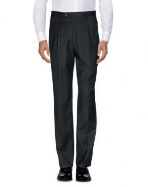 Повседневные брюки MILA SCHÖN. Цвет: стальной серый