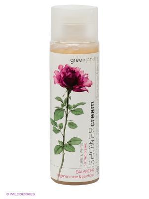Крем (гель) для душа, болгарская роза-пачули, 250 мл. Greenland. Цвет: прозрачный
