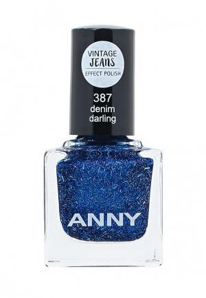 Лак для ногтей Anny. Цвет: синий
