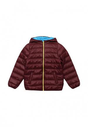 Куртка утепленная Chicco. Цвет: бордовый