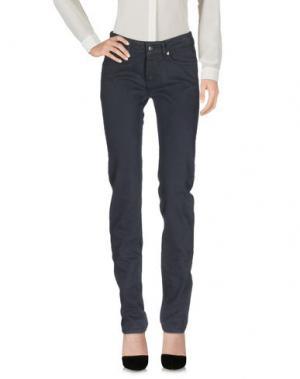 Повседневные брюки ROŸ ROGER'S. Цвет: свинцово-серый