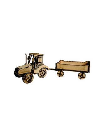 Дер.конструктор Traktor BIZIKIDS. Цвет: бежевый