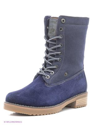 Ботинки Shoiberg. Цвет: синий