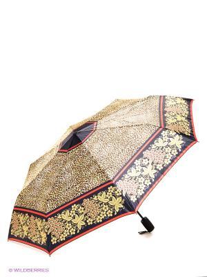 Зонт RAINDROPS. Цвет: темно-синий, бежевый