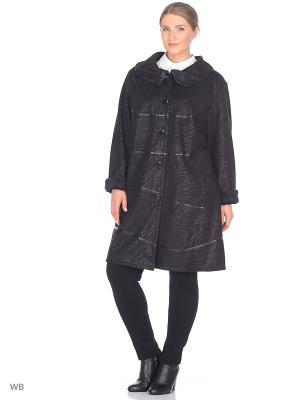 Пальто Кимберли VIKO. Цвет: черный