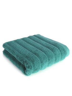 Полотенце банное Waves Зеленый 50*90 IRYA. Цвет: зеленый
