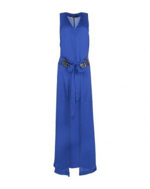 Длинное платье BARBARA BUI. Цвет: синий