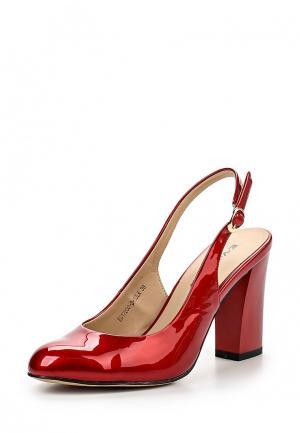 Туфли Evita. Цвет: красный