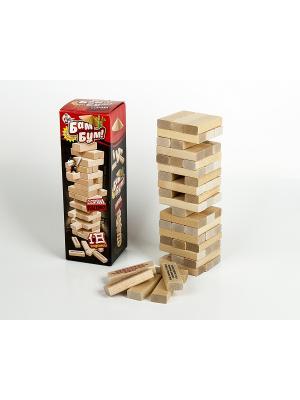 Бам-бум. Падающая башня с фантами Десятое королевство. Цвет: черный, бежевый, красный