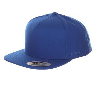 Бейсболка с прямым козырьком  6007 Royal Flexfit. Цвет: синий