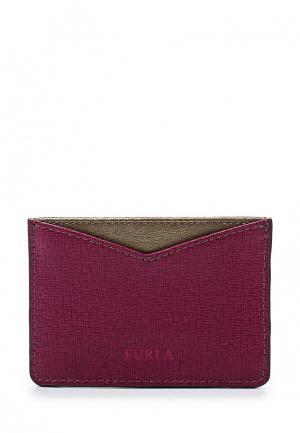 Визитница Furla. Цвет: фиолетовый