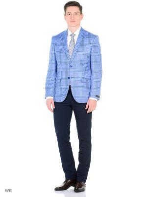 Пиджак мужской Barkland. Цвет: голубой
