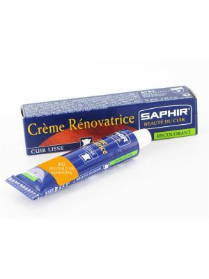 Восстановитель кожи Creme RENOVATRICE, 25мл. Saphir. Цвет: светло-оранжевый