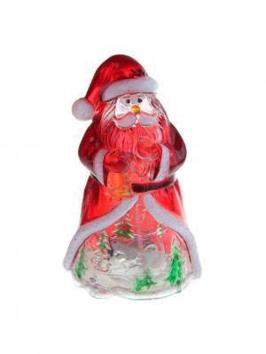 Игрушка световая Дед Мороз Luazon А М Дизайн. Цвет: красный, светло-оранжевый, прозрачный